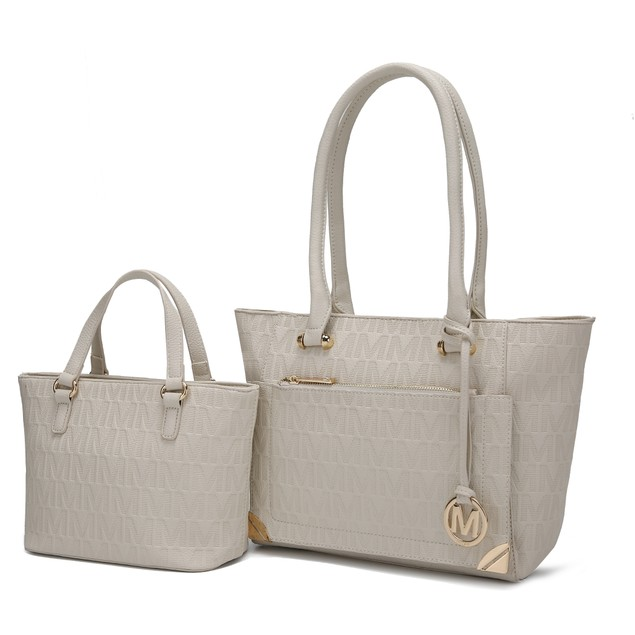 MKF Collection 2PC Moniece Tote and Mini Matching Bag by Mia K.