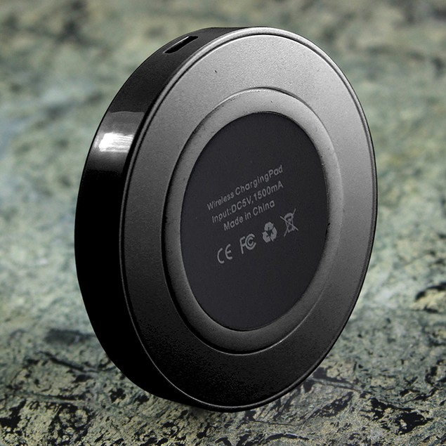 QI Wireless Charger With 2.1A Dual Port USB Wall Charger