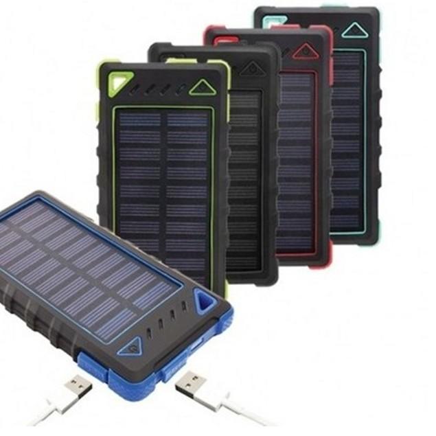 8,000mAh High Speed 2-Port Solar Power Bank