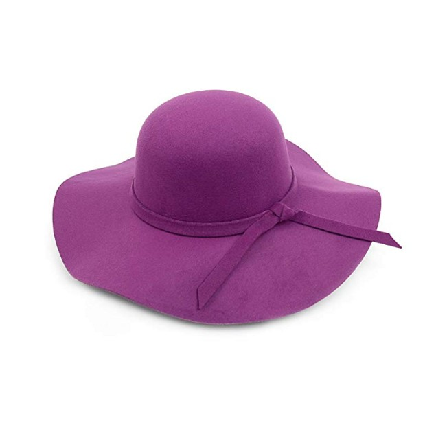 Bowknot Wide Brim Floppy Hat for Women Great Colors UV Protection Sun Hat