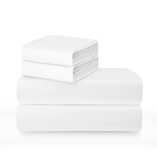 400 Thread Count 100% Cotton Sateen Sheet Set