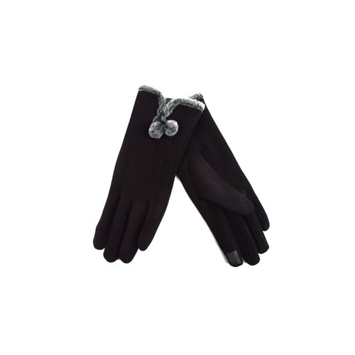 1-Pack Women's Cold Weather Touch-Screen Gloves