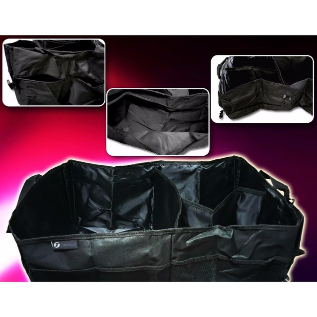 Zone Tech Trunk X-Large Car Organizer Storage Collapsible Cargo Folding Box