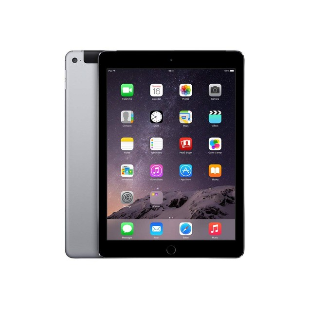 Apple iPad Air 2 with 4G Unlocked Cellular + WiFi (16GB, Space Gray)