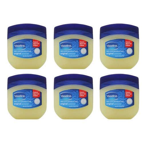 6-Pack Vaseline Petroleum Jelly 3.75 Oz Original