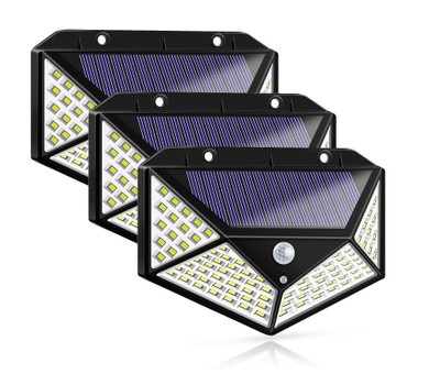 3-Pack 100-LED Solar Powered Motion Sensor Lights with 3 Mode 270° Wide Angle Was: $29.99 Now: $24.99.