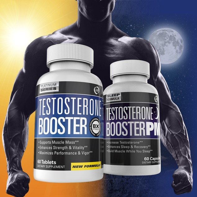 Testosterone Booster & Sleep Aid Muscle Builder