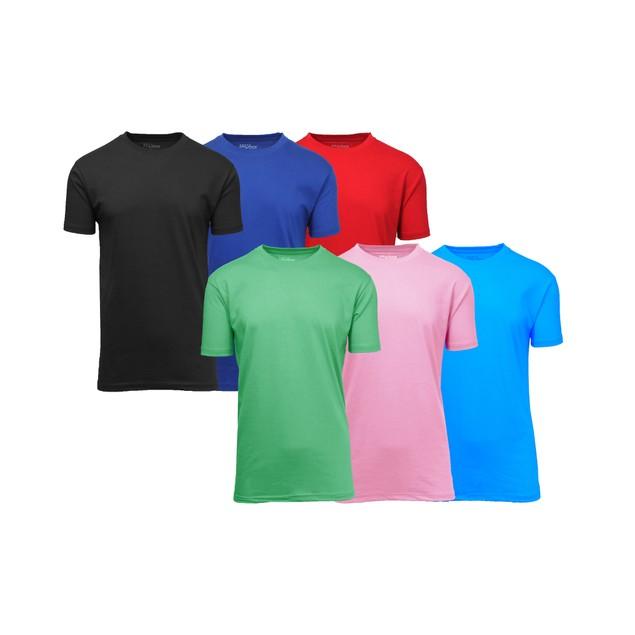 6-Pack Men's Short Sleeve V-Neck Tee