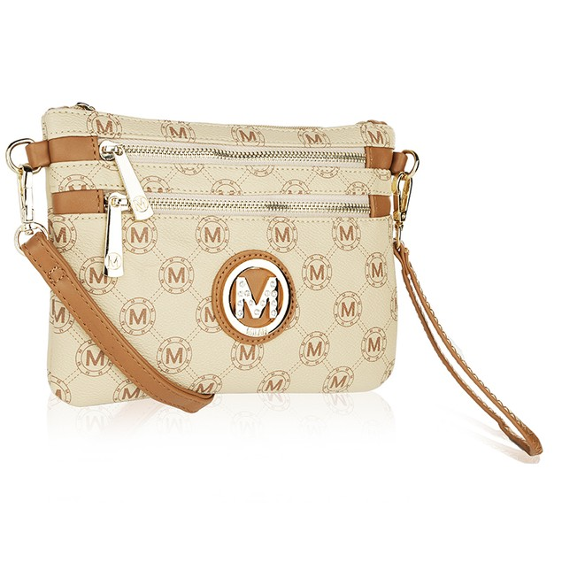 MKF Collection Marie M Signature Cross Body Wristlet by Mia K.