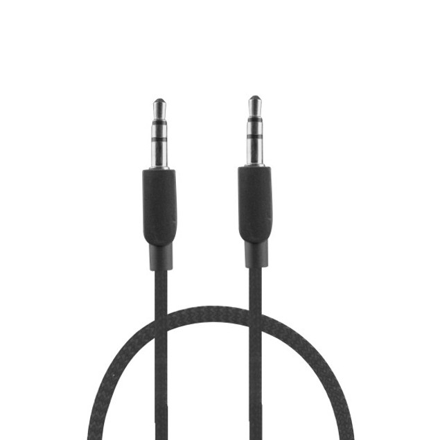 3-Pack 3 ft. Braided Audio AUX Cable