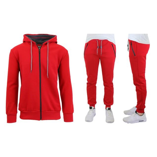 Men's Slim-Fit Tech Fleece Hoodie & Jogger