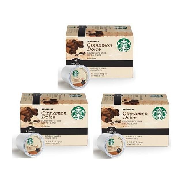 Starbucks Cinnamon Dolce Keurig K-Cups 3 Pack