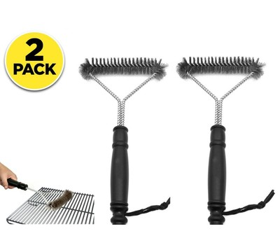 2 Pack Grill Brush and BBQ Cleaning Scraper Was: $29.99 Now: $7.99.
