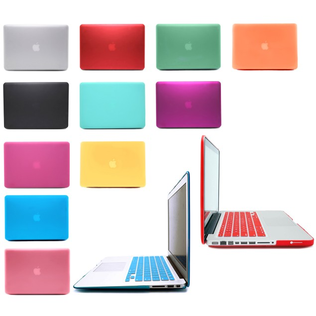 Rubberized Hard Matte MacBook Case