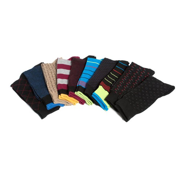 10-Pack Men's Beverly Hills Polo Club Socks