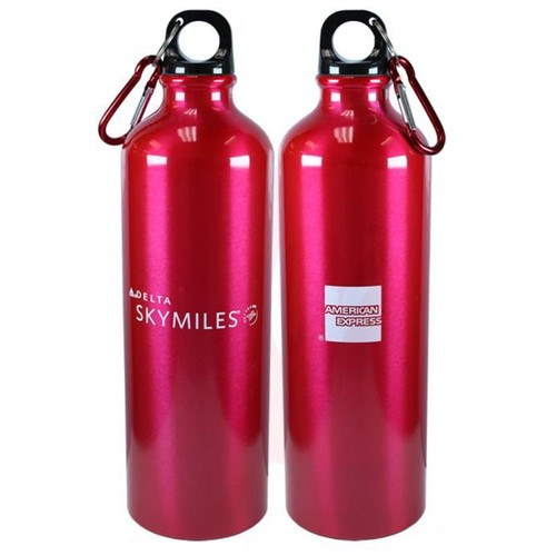 3-Pack Stainless Steel Water Bottle 24 Ozs