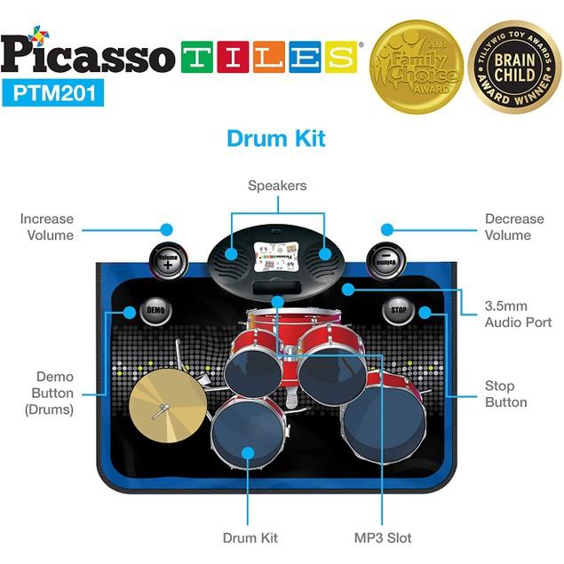 Stardom Musical Instruments Set Mat