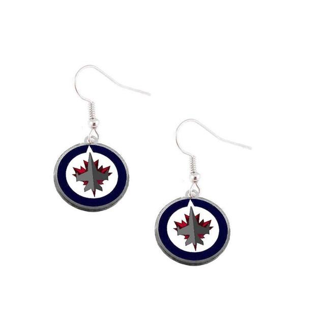 NHL Sports Team Dangle Logo Earring Charm Gift Set