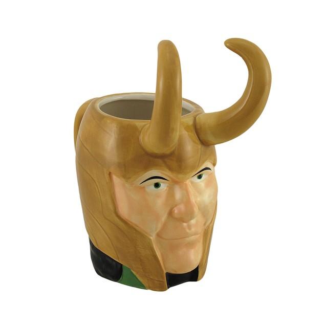 Marvel Comics Loki Molded Ceramic Mug Novelty Coffee Mugs