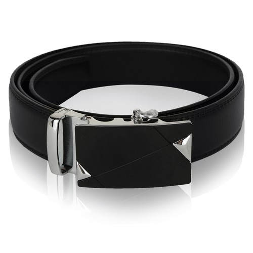 MKF Collection Mitch Genuine Leather Belt by Mia K.
