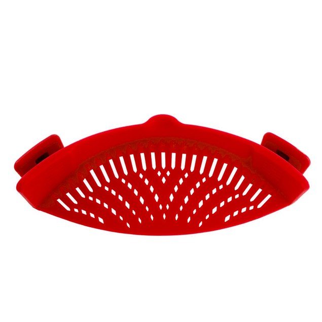 Clip on Strainer For Pots, Pans And Bowls-7 Colors To Pick From