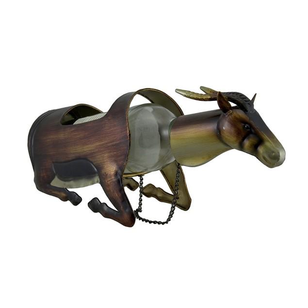 Metal Gazelle Single Bottle Holder Wine Display Wine Bottle Holders