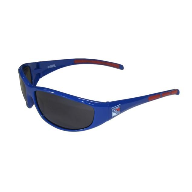 NHL Sports Team Logo 3 Dot Wrap Sunglasses