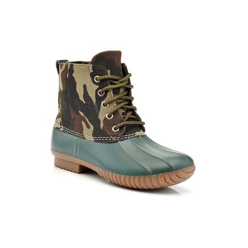 Henry Ferrera Mission 200 Water Resistant Camo Duck Rain Boots
