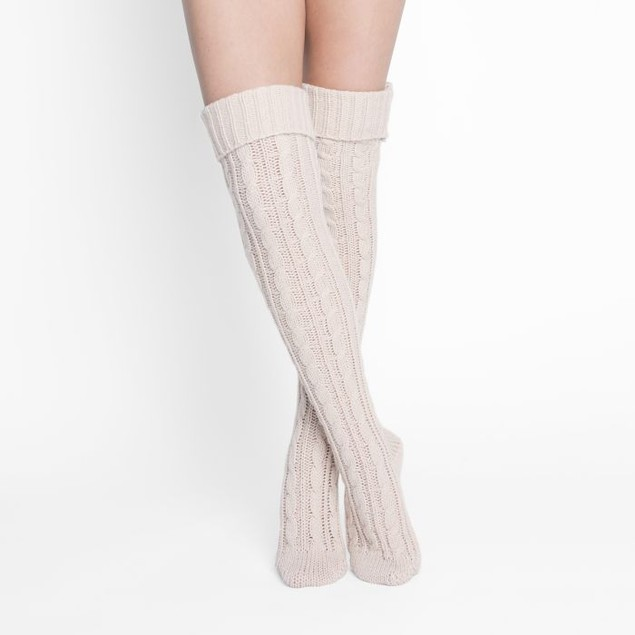 MUK LUKS ® Women's Cable Knit Over the Knee Socks