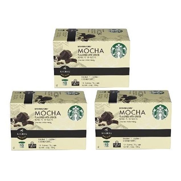 Starbucks Mocha Keurig K-Cups 3 Pack