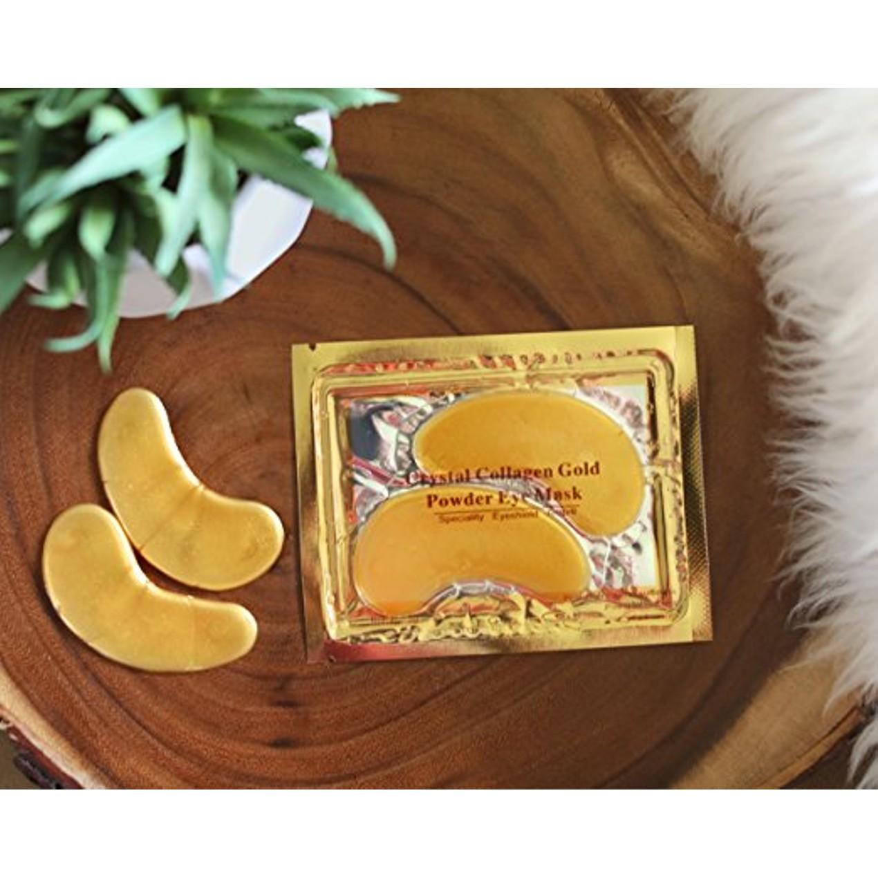 24k Gold Eye Mask With Collagen 20 Pairs Tanga Powder Aye