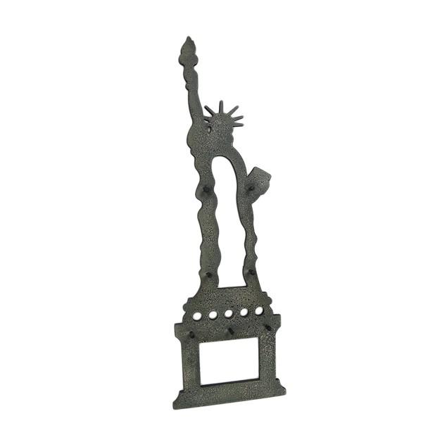 Statue Of Liberty Decorative Wooden Wall Hook Key Hooks