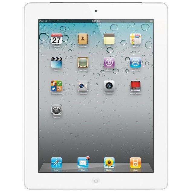 Apple iPad 2 MC979LL/A, 16GB WiFi White (Grade B)
