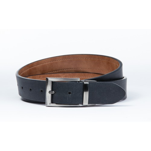 MKF Collection Omar Genuine Leather Belt by Mia K.