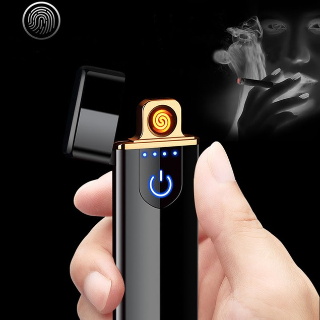 Slim Windproof Rechargeable Lighter