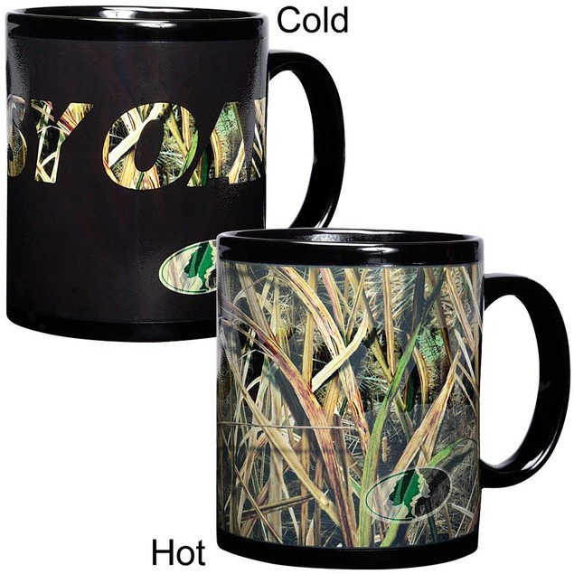 Havercamp Color Changing Mug by Mossy Oak Camouflage Duck Blades Pattern
