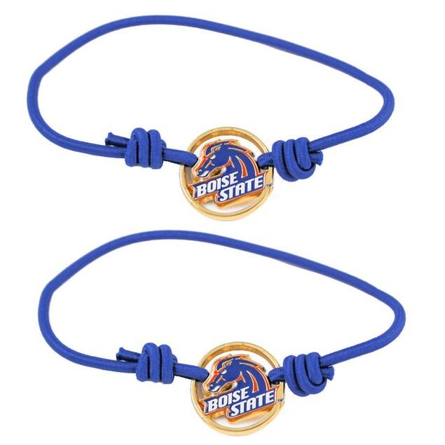 NCAA Sports Team Stretch Bracelets Set of 2 Hair Ties