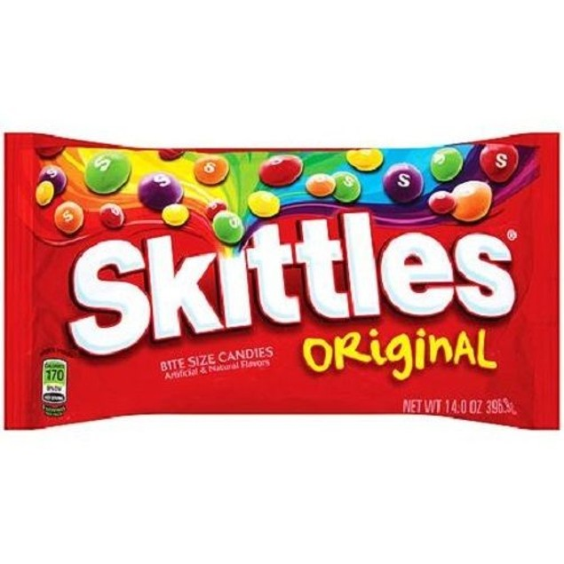 Skittles Original Candies 14 oz Bag.