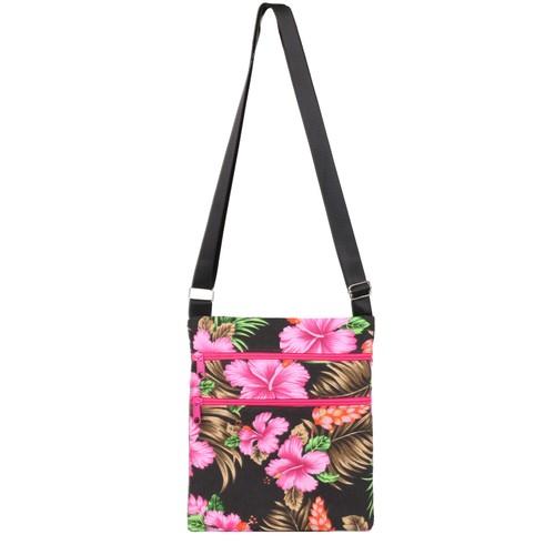 Tropical Pink Messenger Bag
