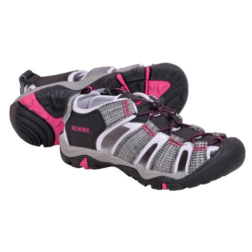 Brown Oak Men's & Women's Hiking/Sport Shoe Sandal- Multiple Colors