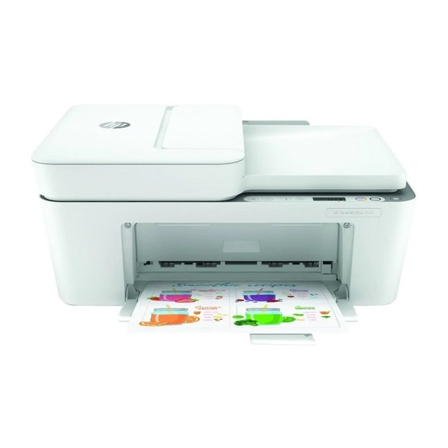 HP DeskJet Plus 4140 All-in-One Color Printer (Copy, Print, Scan)