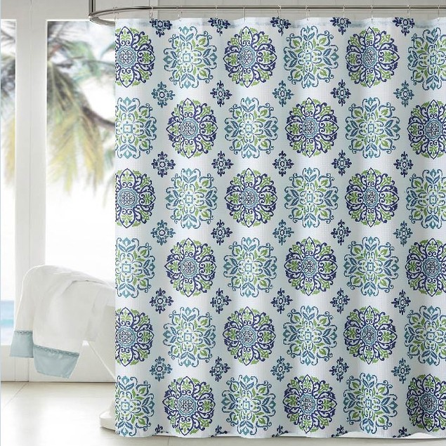 "Ruthy's Textile Dobby Shower Curtian 72"" X 72"""