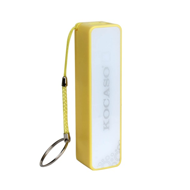 Keychain Power Bank 2600 mAh with Micro USB Cable