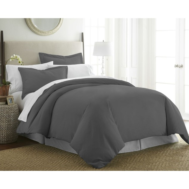 Merit Linens Ultra Soft 3 Piece Duvet Cover Set
