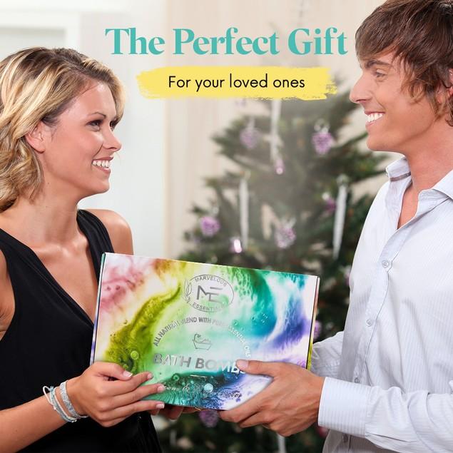 24-Piece Marvelous Essentials Bath Bomb Gift Set for Women