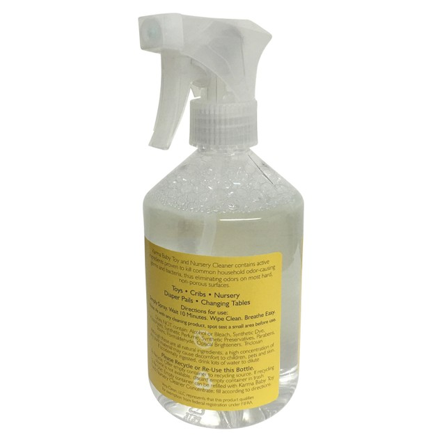 Natural Cleaner for Toys and Nursery,16 FL OZ+Baby Diaper Changing Pad