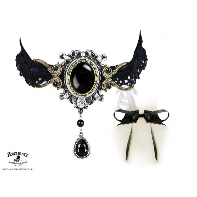 Alchemy Gothic She Walks In Beauty Necklace Womens Pendant Necklaces