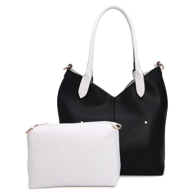 MKF Collection Phoenix Tote Bag with Cosmetic Pouch by Mia K.