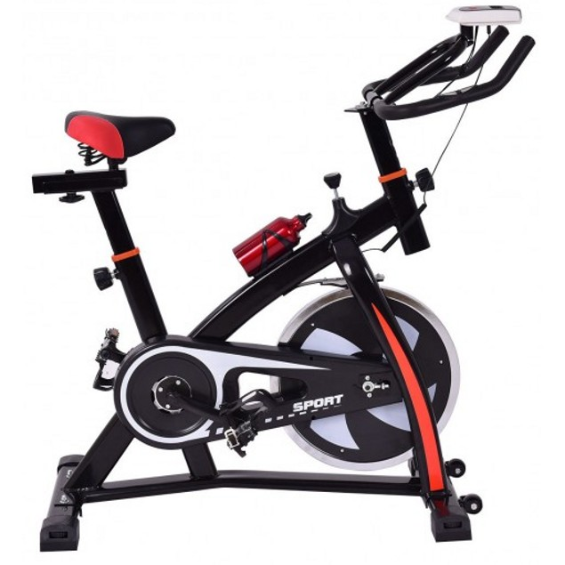Costway Indoor Cycling Bike with LED Display