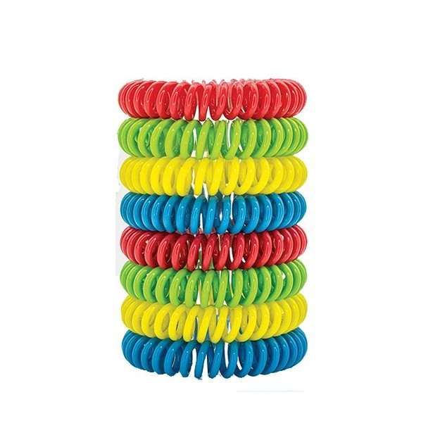 36-Pack Natural Mosquito Repellent Waterproof Bracelets